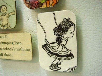 SayHiBeth's adorable vintage magnets