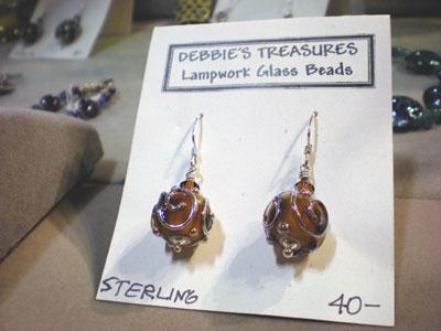Debbie's Treasures - Lampwork Earrings