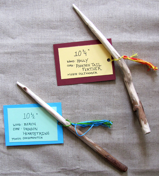 Diy tassels and a harry potter birthday gift handmade for Birthday wand