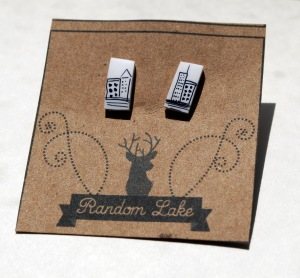 Brownstone Earrings