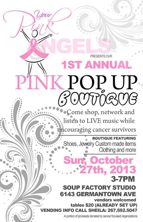 Your Pink Angels Pink Pop Up Boutique